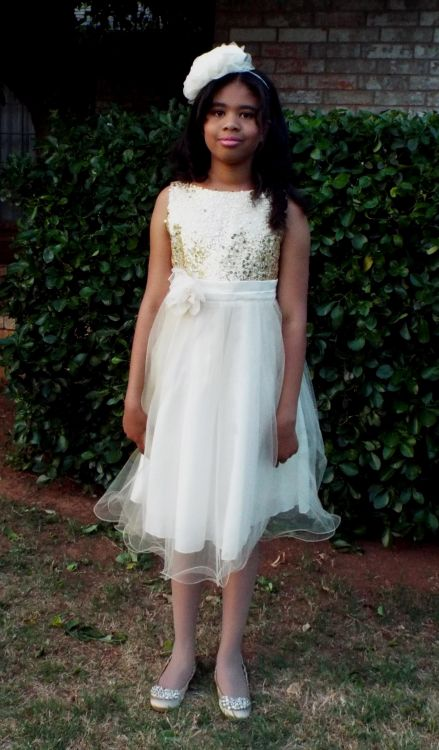 Long white graduation dresses for 5th graders