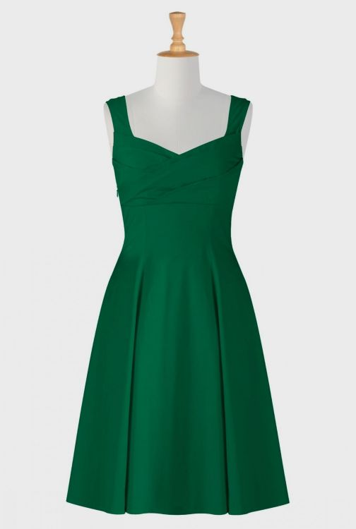 Emerald Green Casual Dress Looks B2b Fashion