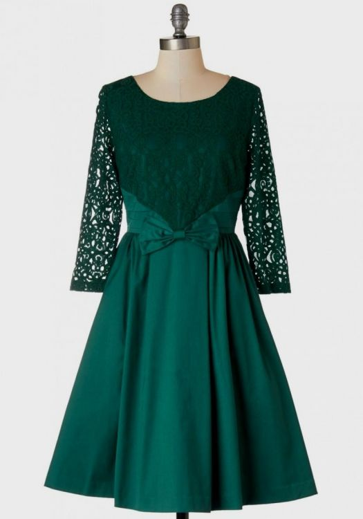 Emerald Green Lace Dress Plus Size Looks B2b Fashion