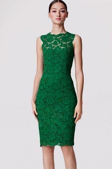 Emerald Green Lace Dress Plus Size 2016 2017 B2b Fashion