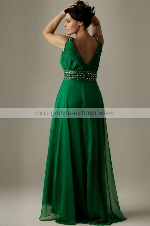emerald green plus size dress - gaussianblur