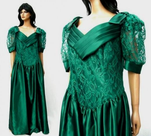 Emerald Green Plus Size Bridesmaid Dresses Looks B2b Fashion