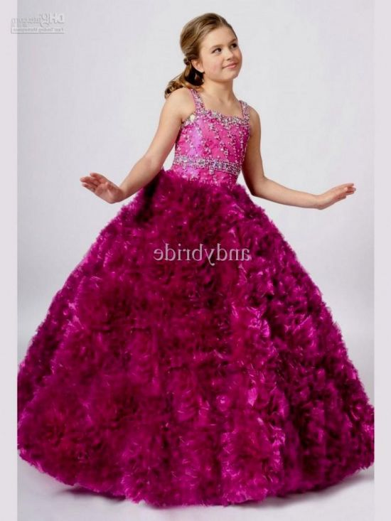 fancy dresses for little girls 2016-2017