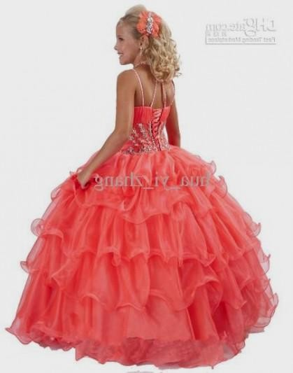Fancy Dresses For Little Girls - Qi Dress