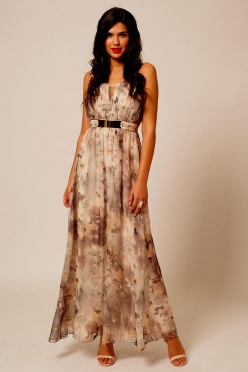 Floral maxi dresses for weddings 2016 2017 b2b fashion for Floral dresses for weddings