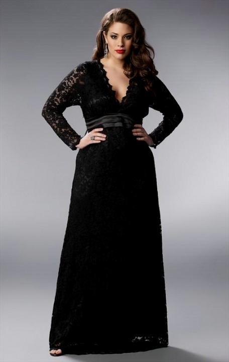 formal black dresses plus size 2016-2017 | B2B Fashion