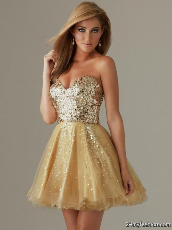 gold cocktail dresses under 50 2016-2017 » B2B Fashion