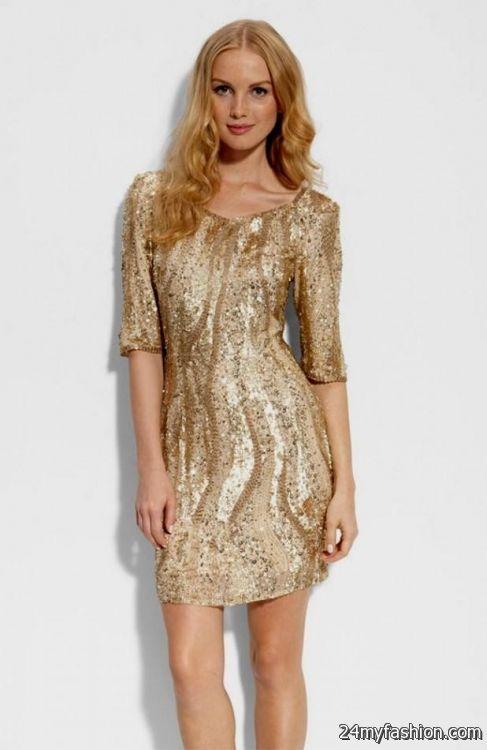 Gold Cocktail Dresses Under 50