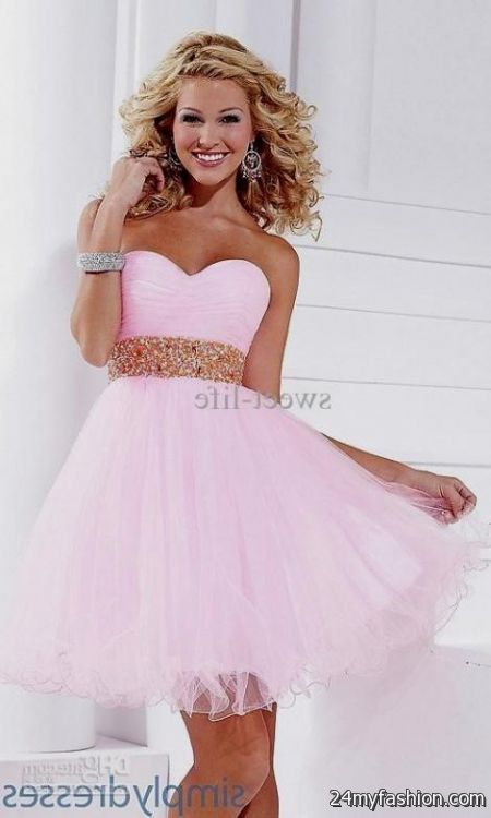 ff3d2240bbb You can share these graduation dresses for 8th grade girls 2018 on Facebook