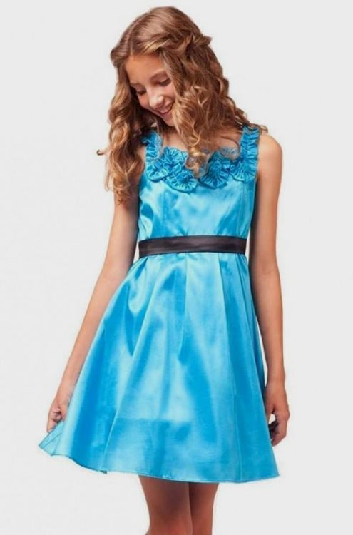 c548116fa66 See kids dresses in the latest designs and the hottest colors of the  season. You can share these graduation dresses for girls in 5th grade on  Facebook ...