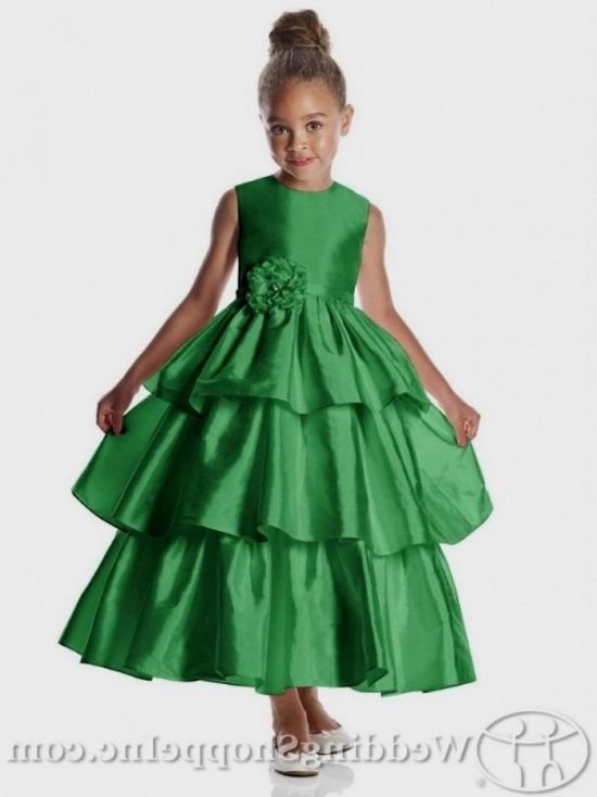 d9e6e8463c0 green dress for girls looks