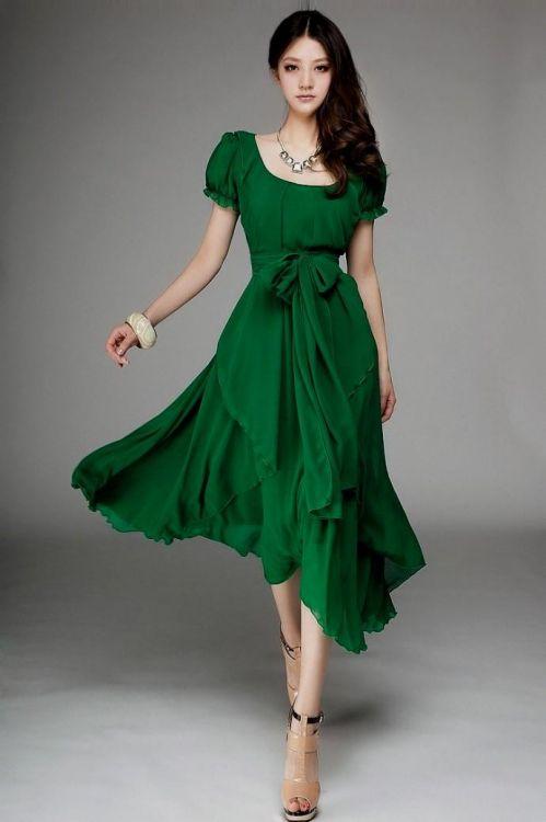 green summer dresses 20162017 b2b fashion
