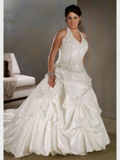 Halter Wedding Dress Plus Size Looks B2b Fashion