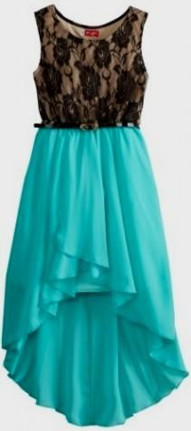 high low dresses for girls 7-16 2016-2017 » B2B Fashion