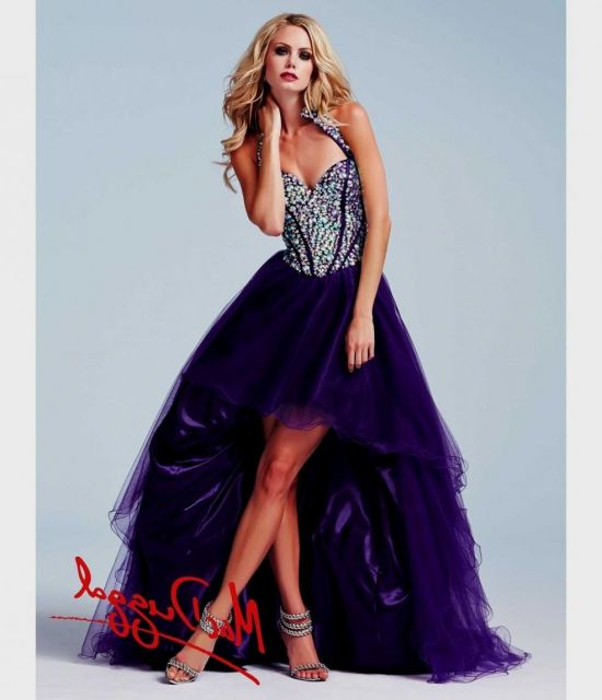 high low prom dresses for teenagers 2016-2017