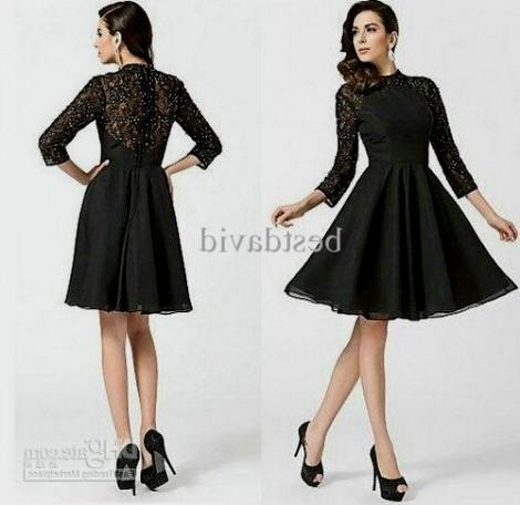 homecoming dresses with sleeves and knee length 2016-2017 | B2B ...