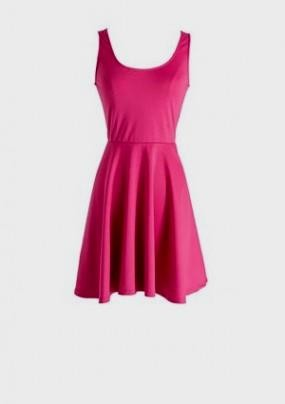 Hot Pink Casual Dresses