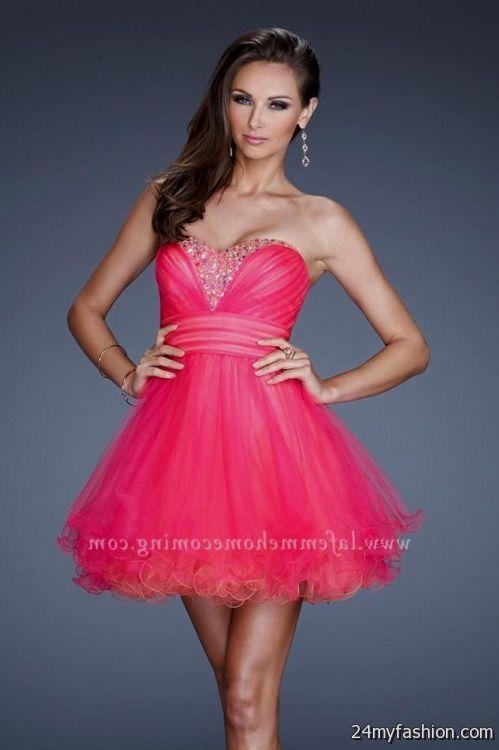 hot pink cocktail dress 2016-2017 » B2B Fashion