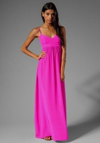 hot pink maxi dress 2016-2017 » B2B Fashion