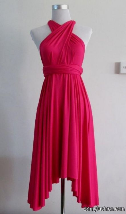 18e90f549f You can share these hot pink summer dress on Facebook