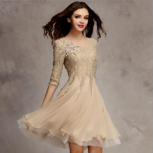 knee length one piece dress for girls 2017 2018 b2b fashion. Black Bedroom Furniture Sets. Home Design Ideas