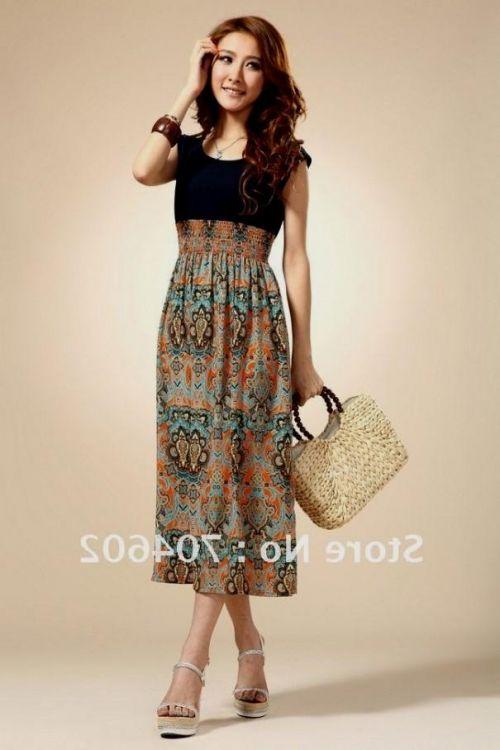 Knee Length Summer Dresses For Women Looks B2b Fashion