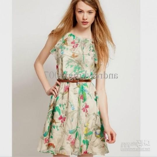 Casual knee length summer dresses