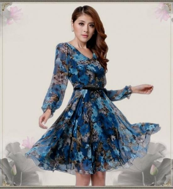 knee length summer dresses with sleeves 2016-2017 » B2B Fashion