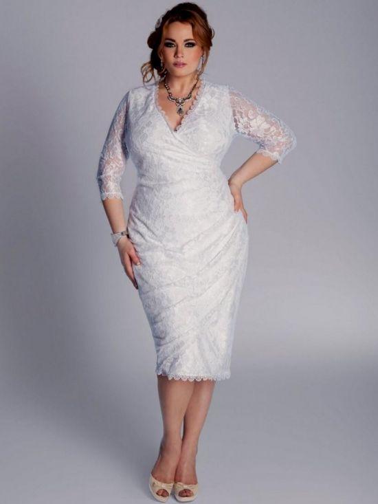 Plus Size Informal Wedding Dresses With Sleeves - Wedding Dress Ideas