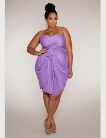 plus size purple lavender dress – Fashion dresses