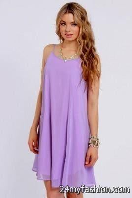 Lavender Dresses for Juniors