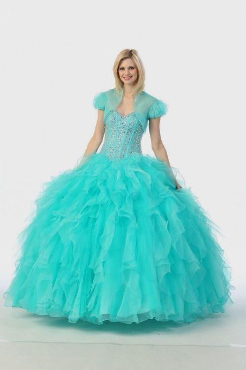 Light Blue Ball Gown Prom Dresses Looks B2b Fashion