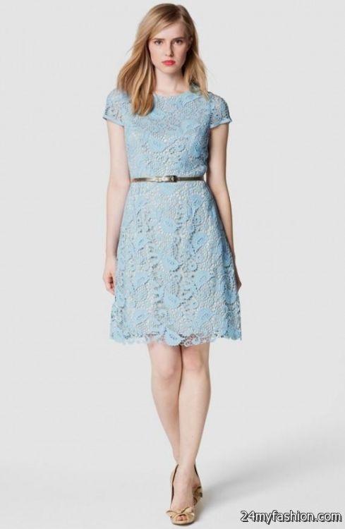 light blue lace dresses 20162017 b2b fashion