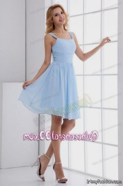 Light blue summer dresses