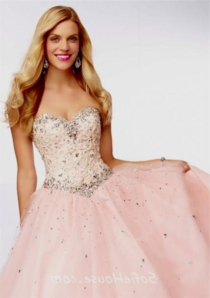 light pink ball gown prom dress 2016-2017 » B2B Fashion