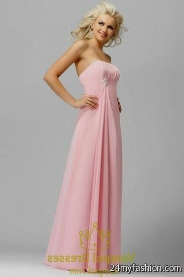 light pink bridesmaid dresses with sleeves 20162017 b2b