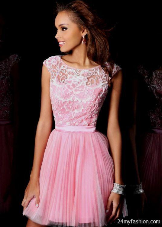 light pink cocktail dress 2016-2017   B2B Fashion
