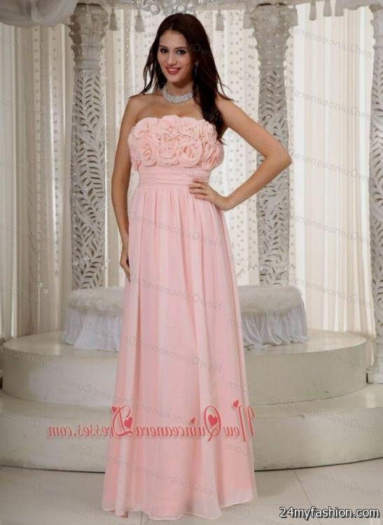 light pink quinceanera dama dresses 2016-2017 | B2B Fashion