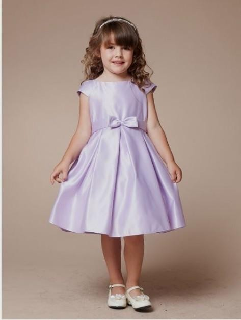 light purple flower girl dresses looks | B2B Fashion