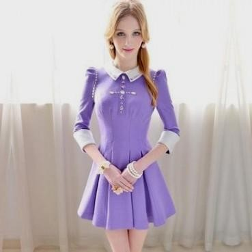 Light Purple Summer Dress