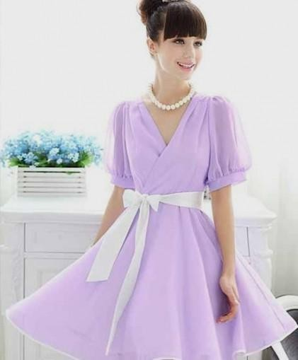 2e296f5f27 You can share these light purple summer dress on Facebook