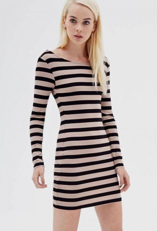 long sleeve black bodycon dress forever 21 20162017 b2b