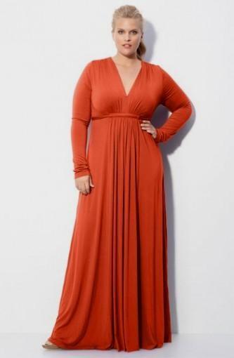 Long Sleeve Maxi Dress Plus Size 2016 2017 B2b Fashion
