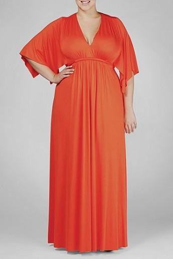 Long Sleeve Maxi Dress Plus Size Looks B2b Fashion