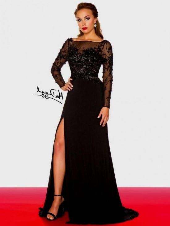 Long Sleeve Plus Size Prom Dresses 2016 2017 B2b Fashion