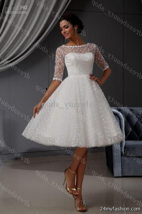 Awesome Short Wedding Dresses 2017 Gallery - Styles & Ideas 2018 ...