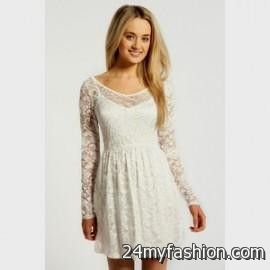 You Can Share These Long Sleeve White Lace Dress Forever 21 On Facebook Stumble Upon My E Linked In Google Plus Twitter And All Social