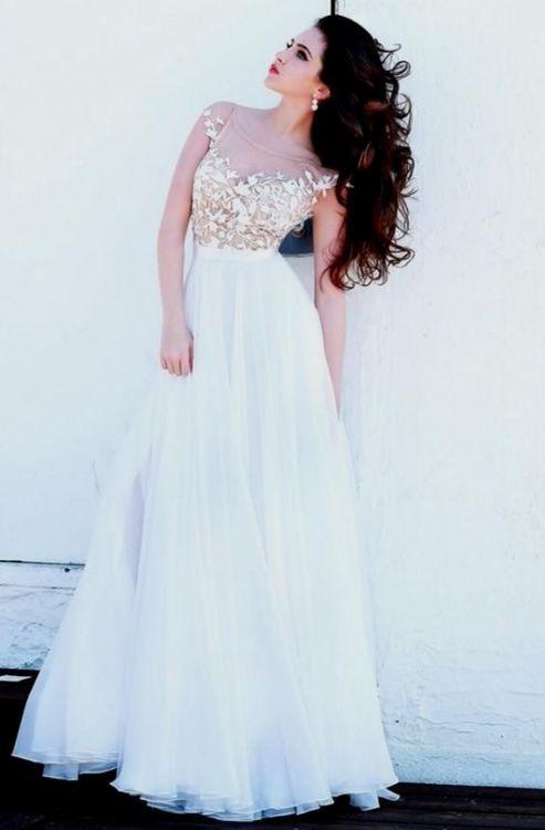 Long White Formal Dresses For Juniors Looks B2b Fashion