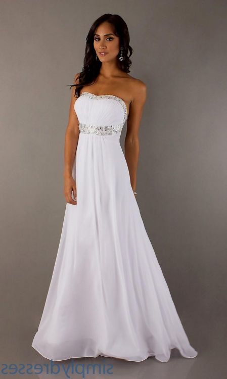 80aa79c9ed You can share these long white formal dresses for juniors on Facebook