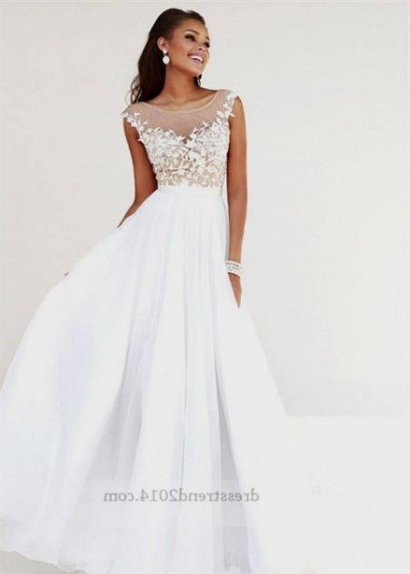 Long White Formal Dresses For Juniors 2016 2017 B2b Fashion